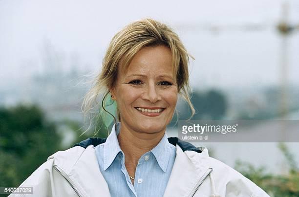 Claudia Rieschel * Schauspielerin D Aufgenommen September 1997 Einzelaufnahme