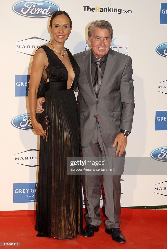 Claudia Rodriguez and Manolo Santana attend the 4rd annual Starlite Charity Gala on August 10, 2013 in Marbella, Spain.