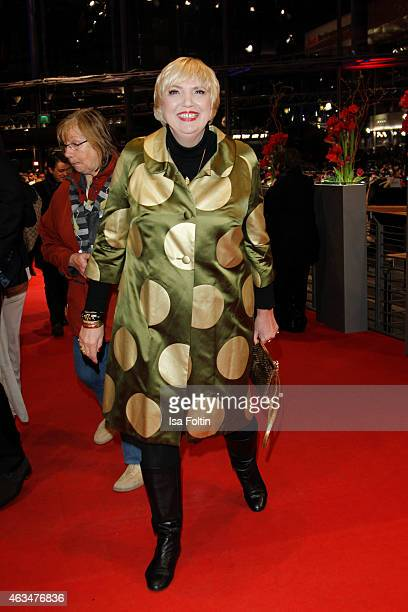 Claudia Roth attends the Closing Ceremony of the 65th Berlinale International Film Festival on February 14 2015 in Berlin Germany