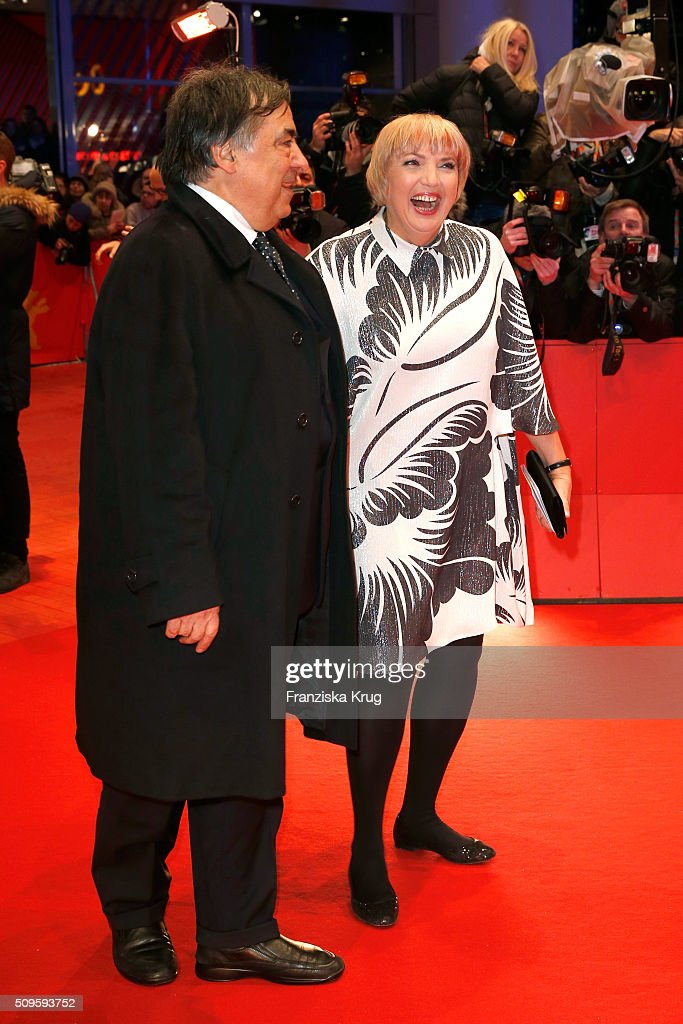 <a gi-track='captionPersonalityLinkClicked' href=/galleries/search?phrase=Claudia+Roth&family=editorial&specificpeople=235978 ng-click='$event.stopPropagation()'>Claudia Roth</a> (R) attends the 'Hail, Caesar!' premiere during the 66th Berlinale International Film Festival Berlin at Berlinale Palace on February 11, 2016 in Berlin, Germany.