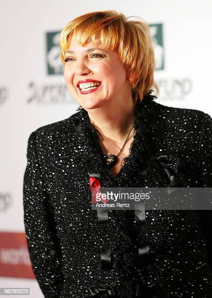 Claudia Roth of the Green party arrives at the Women's World Awards on November 29 2005 in Leipzig Germany