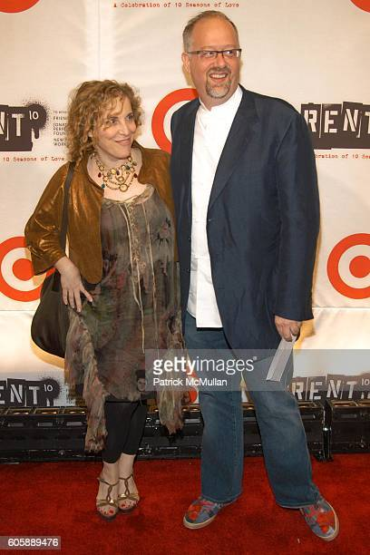 Claudia Scheer and Doug Wright attend RENT 10th Year Anniversary Afterparty at Cipriani 42nd Street on April 24 2006 in New York City