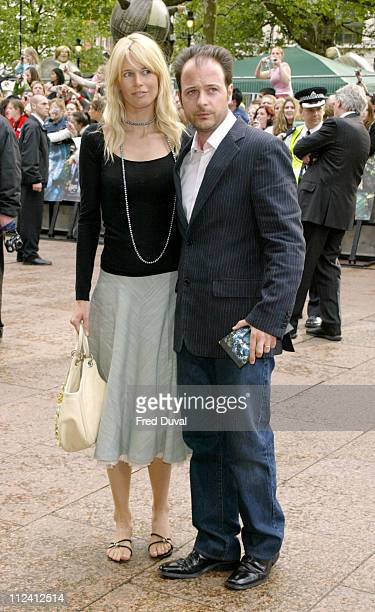 Claudia Schiffer and Matthew Vaughn during 'Harry Potter and the Prisoner of Azkaban' London Premiere Arrivals at Leicester Square in London Great...