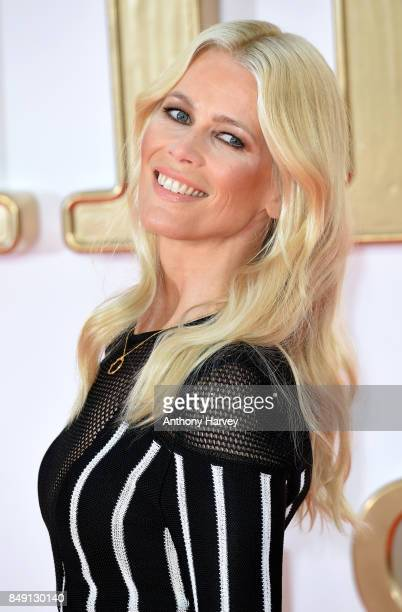 Claudia Schiffer attends the 'Kingsman The Golden Circle' World Premiere held at Odeon Leicester Square on September 18 2017 in London England