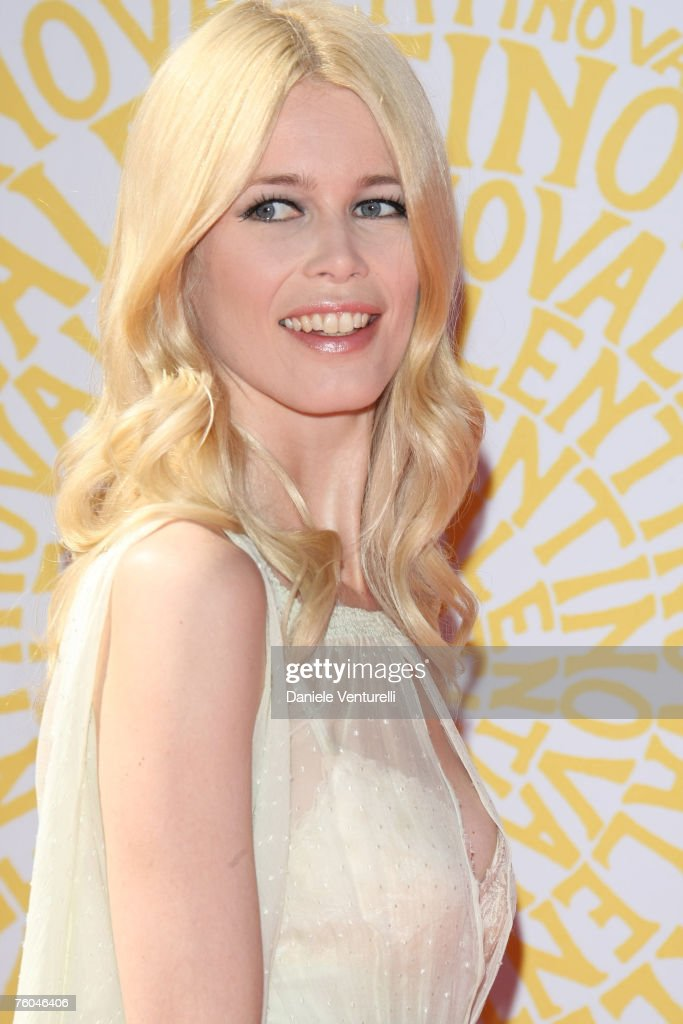 Claudia Schiffer during the Valentino 45th anniversary July 7, 2007 in Rome, Italy.
