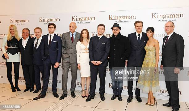 Claudia Schiffer guest producer Mark Millar Edward Holcroft Mark Strong Sophie Cookson Taron Egerton director Matthew Vaughn Colin Firth Sofia...