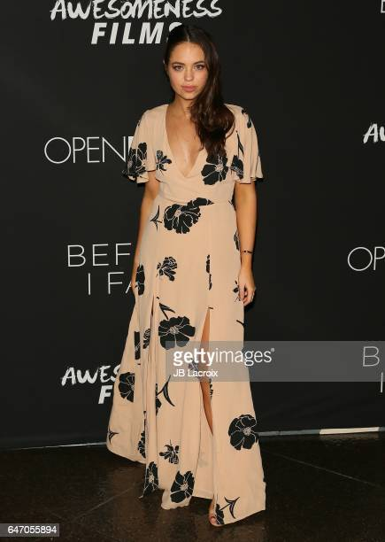 Claudia Sulewski attends the premiere of Open Road Films' 'Before I Fall' on March 01 2017 in Los Angeles California