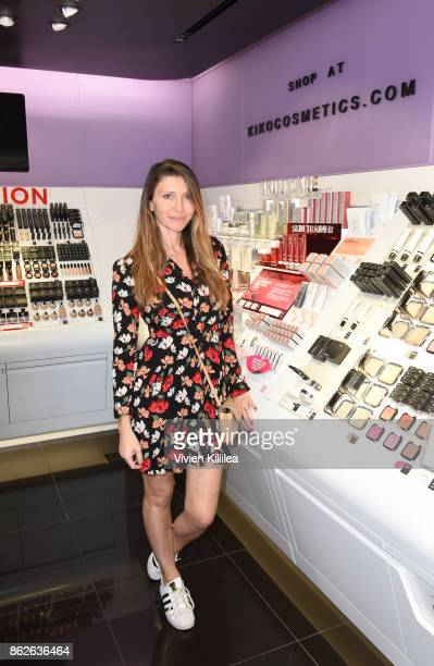 Claudia Vergara attends Louise Roe For Kiko Milano At Kiko Milano Hollywood Venue on October 14 2017 in Hollywood California