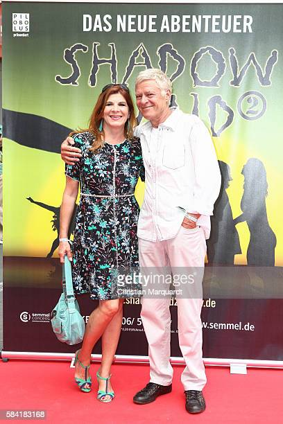 Claudia Wenzel and Ruediger Joswig attend the 'Shadowland 2 Neues aus dem Reich der Schatten' World Premiere at Admiralspalast on July 28 2016 in...