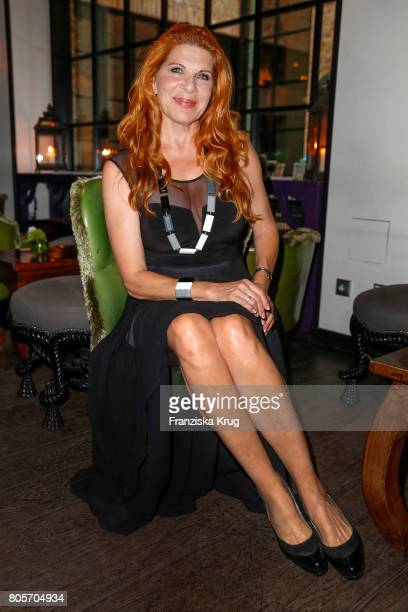 Claudia Wenzel attends the Annabelle Mandeng Hosts Ladies Dinner In Berlin on July 2 2017 in Berlin Germany