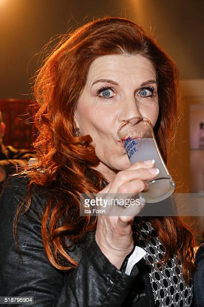 Claudia Wenzel attends the Spirit of Istanbul Festival on April 02 2016 in Berlin Germany