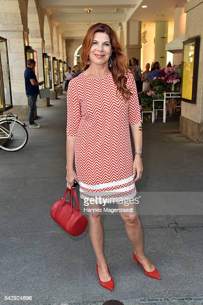 Claudia Wenzel during the 'Sommerfest der Agenturen' at Hugo's on June 25 2016 in Munich Germany
