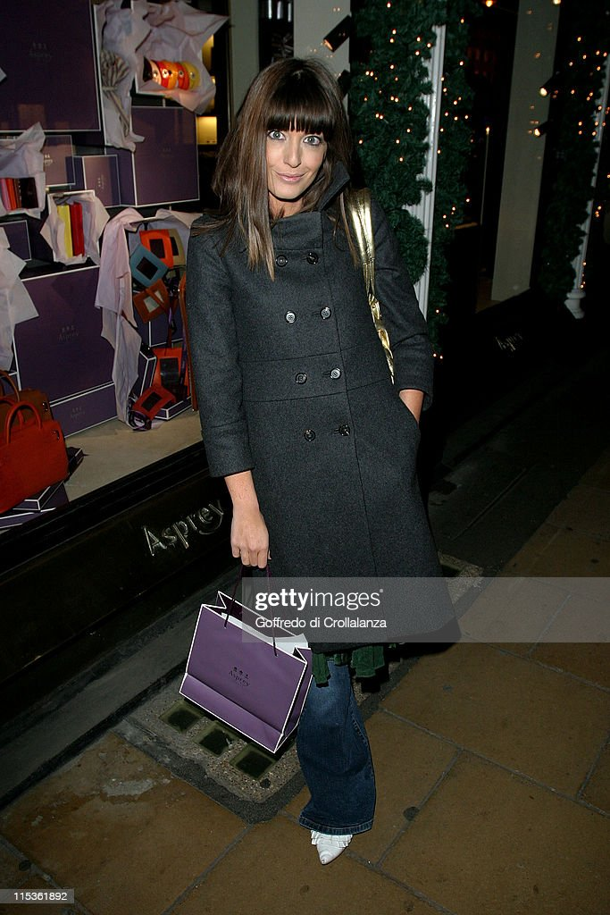 Claudia Winkelman during Women Working Launch Party at Asprey London - Arrivals at Asprey London in London, England, Great Britain.