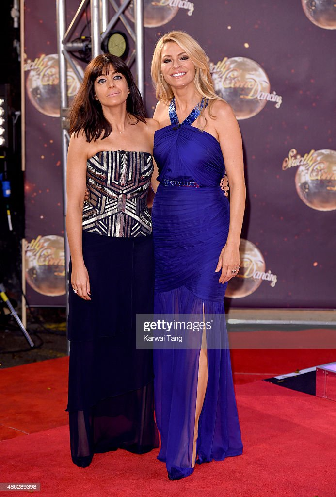 <a gi-track='captionPersonalityLinkClicked' href=/galleries/search?phrase=Claudia+Winkleman&family=editorial&specificpeople=224036 ng-click='$event.stopPropagation()'>Claudia Winkleman</a> and <a gi-track='captionPersonalityLinkClicked' href=/galleries/search?phrase=Tess+Daly&family=editorial&specificpeople=211541 ng-click='$event.stopPropagation()'>Tess Daly</a> attend the red carpet launch of 'Strictly Come Dancing 2015' at Elstree Studios on September 1, 2015 in Borehamwood, England.
