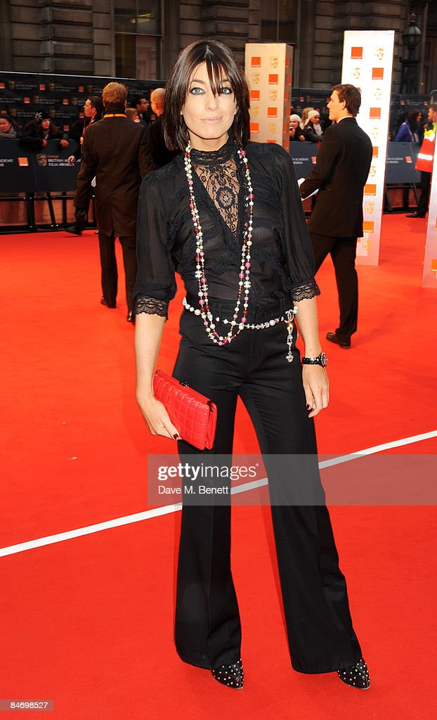 <a gi-track='captionPersonalityLinkClicked' href=/galleries/search?phrase=Claudia+Winkleman&family=editorial&specificpeople=224036 ng-click='$event.stopPropagation()'>Claudia Winkleman</a> arrives at The Orange British Academy Film Awards 2009, at the Royal Opera House on February 8, 2009 in London, England.