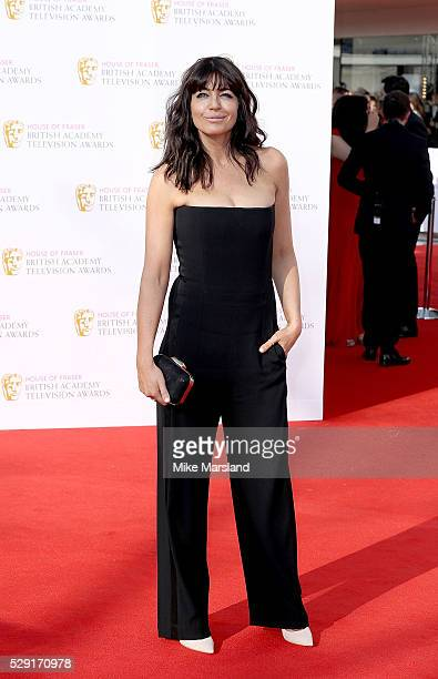 Claudia Winkleman arrives for the House Of Fraser British Academy Television Awards 2016 at the Royal Festival Hall on May 8 2016 in London England