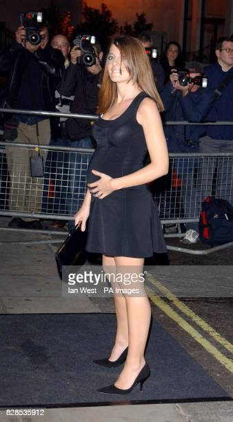 Claudia Winkleman arriving at the Metropolitan Hotel Londonfor the Elton John AIDS Foundation fundraising party 09/03/03 Claudia Winkleman who is...