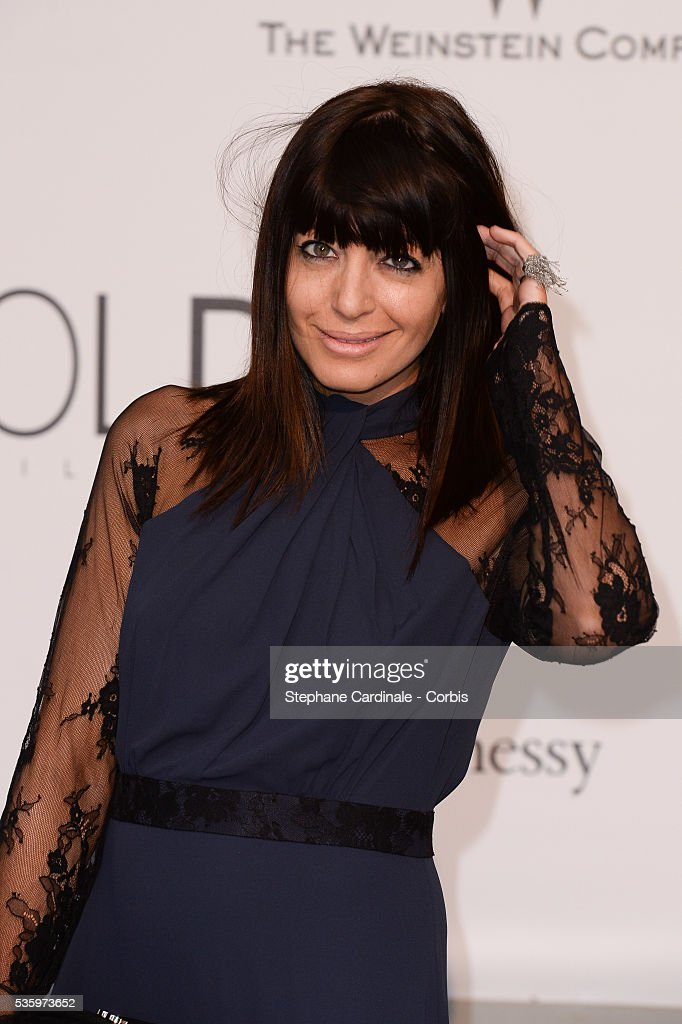 Claudia Winkleman at the amfAR's 21st Cinema Against AIDS Gala at Hotel du Cap-Eden-Roc during the 67th Cannes Film Festival