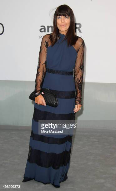 Claudia Winkleman attends amfAR's 21st Cinema Against AIDS Gala Presented By WORLDVIEW BOLD FILMS And BVLGARI at the 67th Annual Cannes Film Festival...
