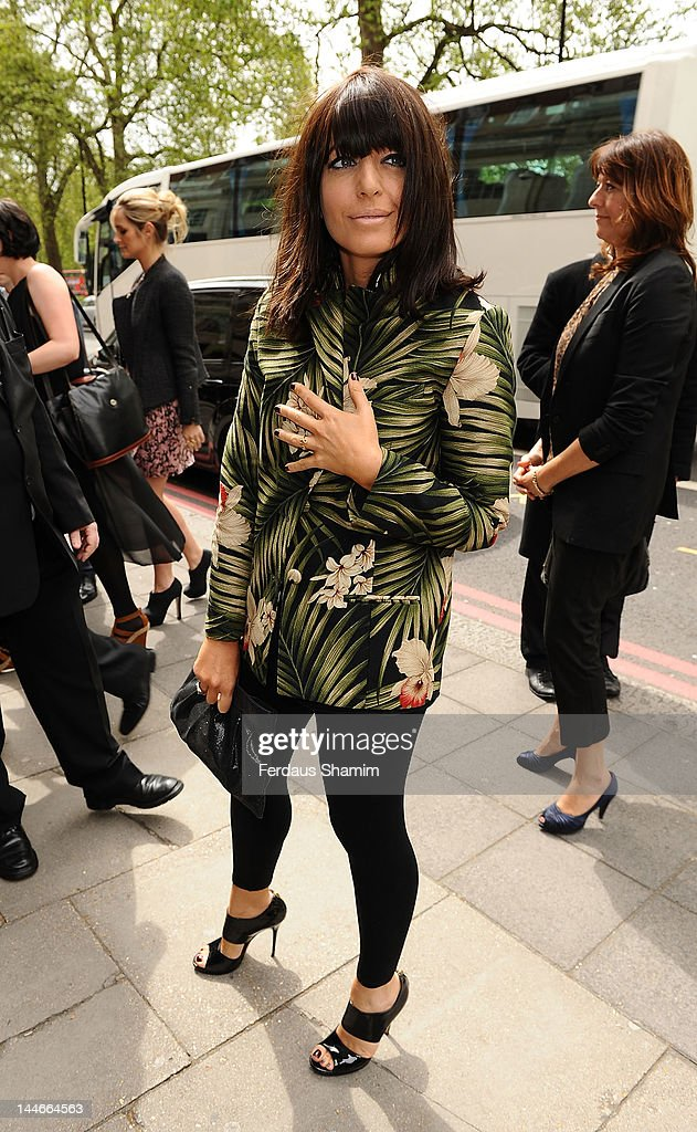 Claudia Winkleman attends Ivor Novello Awards at Grosvenor House, on May 17, 2012 in London, England.