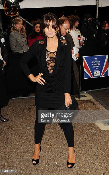 Claudia Winkleman attends the British Comedy Awards on December 12 2009 in London England
