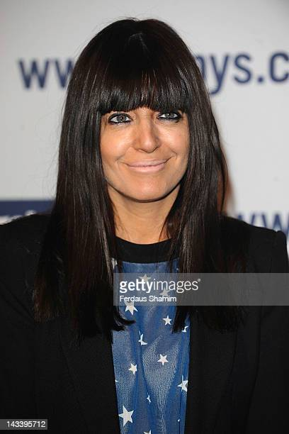 Claudia Winkleman attends the Carphone Warehouse Appy Awards at Battersea Power station on April 25 2012 in London England