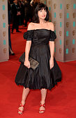 Claudia Winkleman attends the EE British Academy Film Awards at The Royal Opera House on February 8 2015 in London England