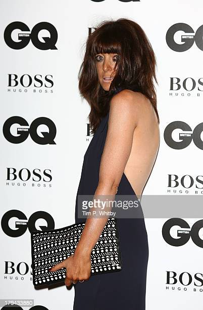 Claudia Winkleman attends the GQ Men of the Year awards at The Royal Opera House on September 3 2013 in London England