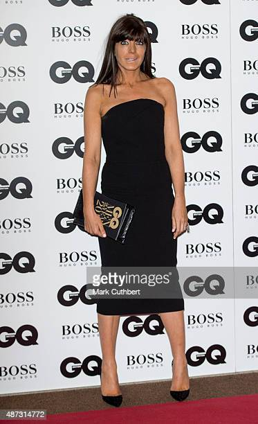 Claudia Winkleman attends the GQ Men of the Year Awards at The Royal Opera House on September 8 2015 in London England