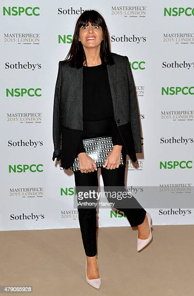 Claudia Winkleman attends the NSPCC NeoRomantic Art Gala at Masterpiece London on June 30 2015 in London England