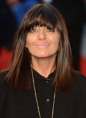 Claudia Winkleman attends the premiere of The Sweeney at Vue Leicester Square