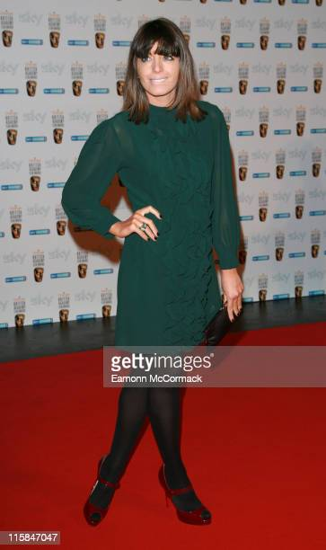 Claudia Winkleman during The Orange British Academy Film Awards 2007 Nomination Reception Party at Natural History Museum London in London Great...