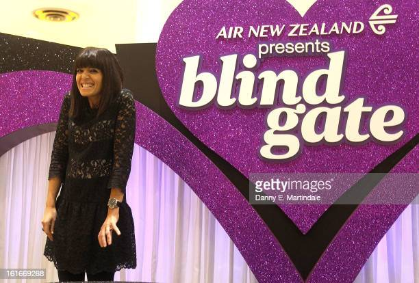 Claudia Winkleman hosts the UK's first ever live dating show on Valentine's Day with the prize being a trip in Air New Zealand's economy skycouch to...