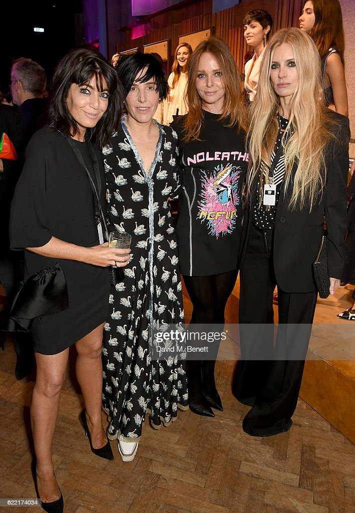 Claudia Winkleman, Sharleen Spiteri, Stella McCartney and Laura Bailey attend the Stella McCartney Menswear Launch and Women's Spring 2017 Collection Presentation at Abbey Road Studios on November 10, 2016 in London, England.