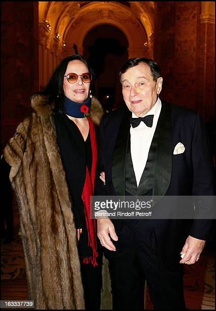 Claudine Auger and Peter Brent at The Scopus Award 2005 Gala Evening Held At The Petit Palais In Paris