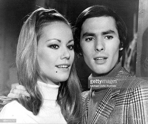 Claudine Auger and Pierre Clementi in a scene from the film 'Listen Let's Make Love' 1968