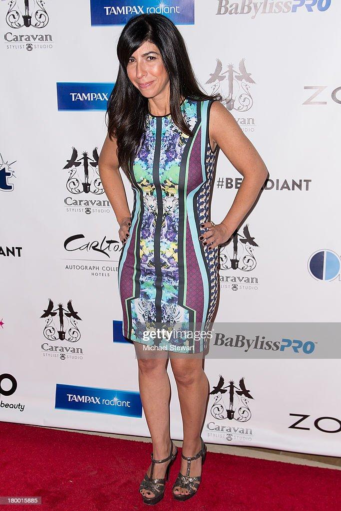 Claudine DeSola attends Caravan Stylist Studio's Fashion Week Soiree at Carlton Hotel on September 7, 2013 in New York City.