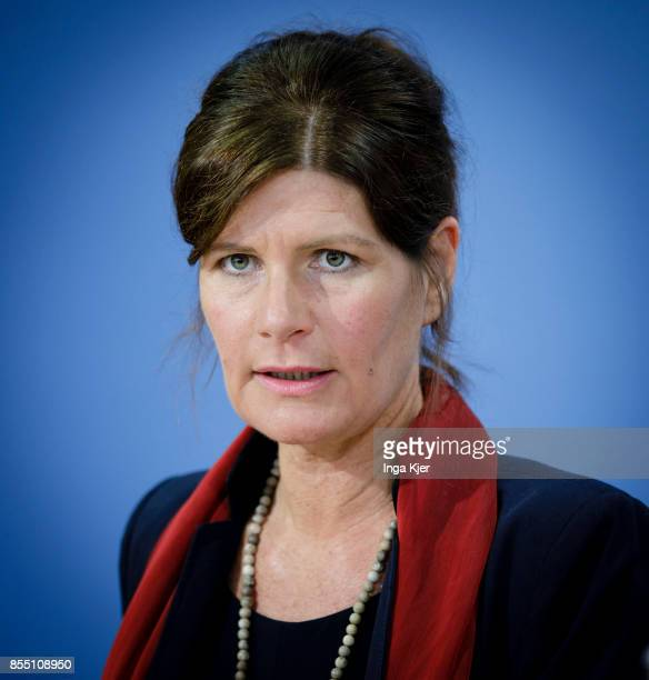 Claudine Nierth federal spokeswoman Mehr Demokratie on September 28 2017 in Berlin Germany