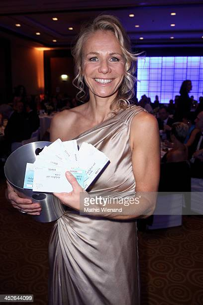 Claudine Wilde attends the 'Dolphin's Night 2013' at InterContinental Hotel on November 30 2013 in Dusseldorf Germany