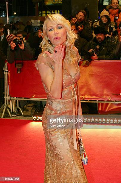 Claudine Wilde during 56th Berlinale International Film Festival 'Elementary Particles' Premiere in Berlin Germany
