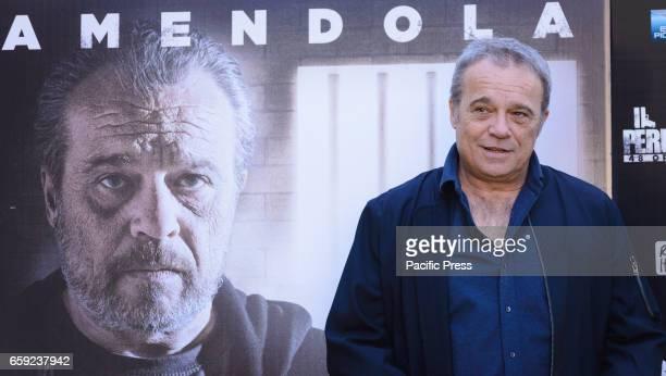 Claudio Amendola attends the photocall of 'Il Permesso'