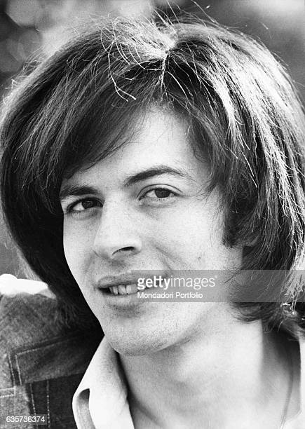 Claudio Baglioni the Italian singersongwriter posing Rome 1972