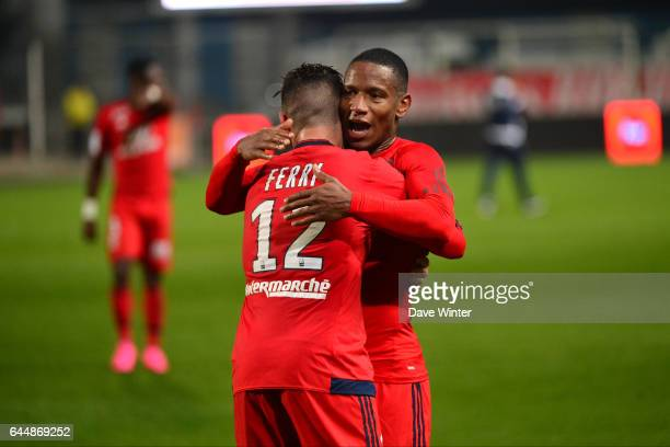 Claudio BEAUVUE / Jordan FERRI Troyes / Lyon 12eme journee de Ligue 1 Photo Dave Winter / Icon Sport