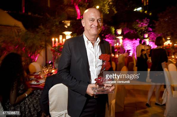 Claudio Bisio attends the 61th Taormina Film Fest Gala Dinner Opening Cerimony on June 13 2015 in Taormina Italy