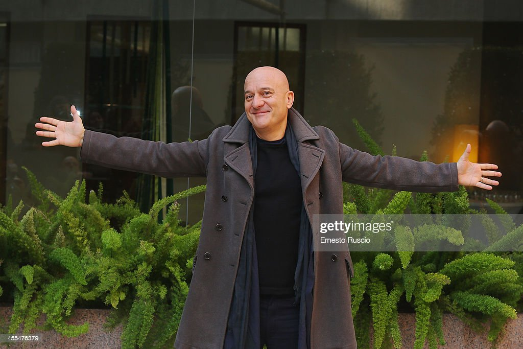Claudio Bisio attends the 'Indovina Chi Viene A Natale' Photocall at Hotel Visconti on December 12, 2013 in Rome, Italy.