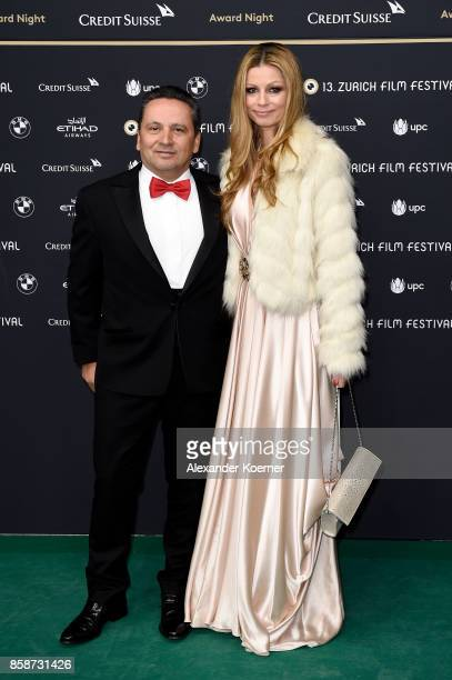 Claudio Cisullo and Tamara Reich attend the Award Night of the the 13th Zurich Film Festival on October 7 2017 in Zurich Switzerland The Zurich Film...