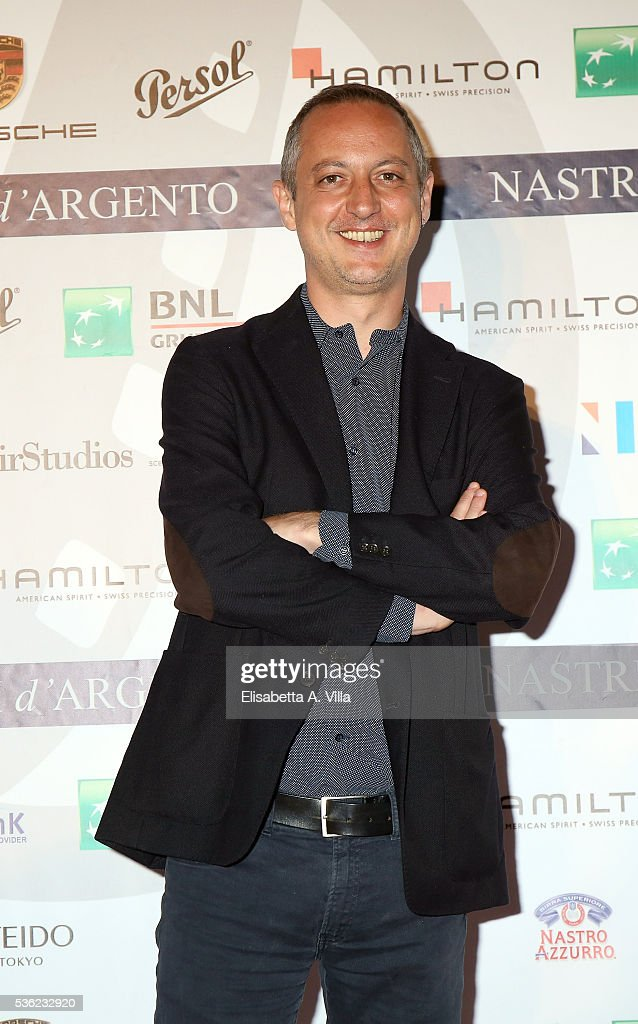 Claudio Cupellini attends Nastri D'Argento 2016 Award Nominations at Maxxi on May 31, 2016 in Rome, Italy.