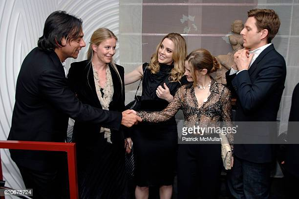 Claudio Dabed Louise Ferragamo Melisaa George Jennifer Jason Leigh and Greg Clark attend FERRAGAMO 80th Anniversary Private Dinner hosted by PEARL...