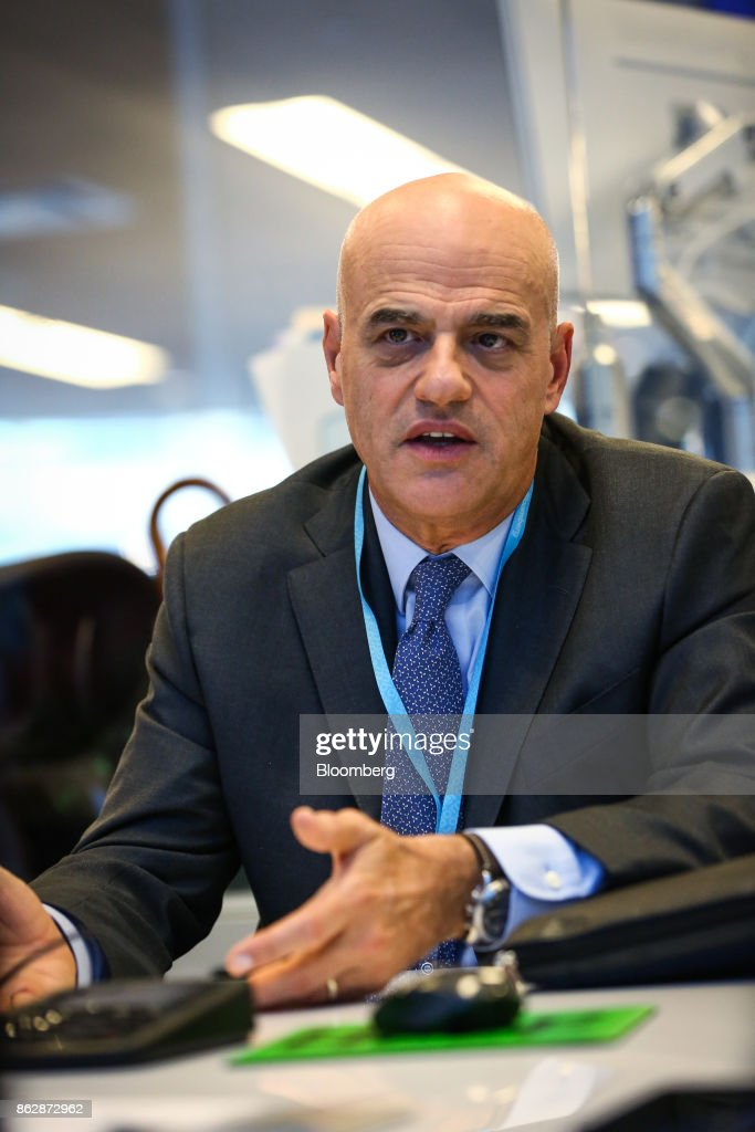 Eni SpA Chief Executive Officer Claudio Descalzi Interview
