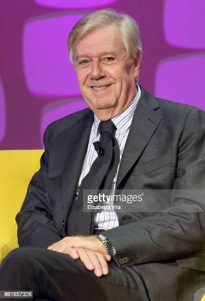 Claudio Lippi attends Domenica In TV Show on October 15 2017 in Rome Italy